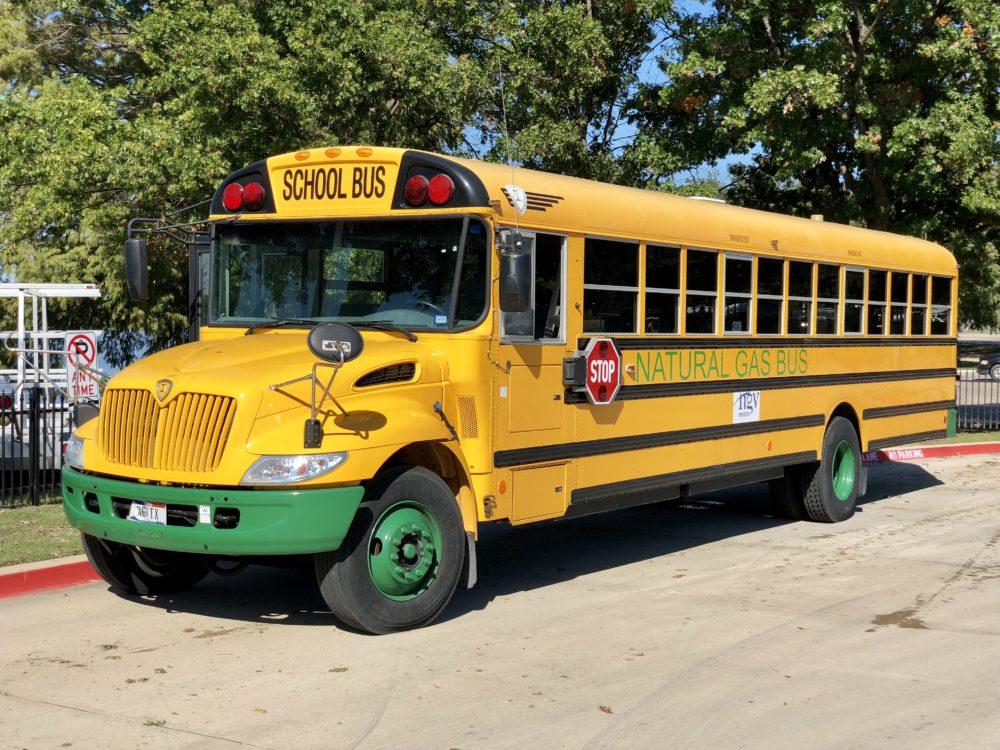 school bus cng